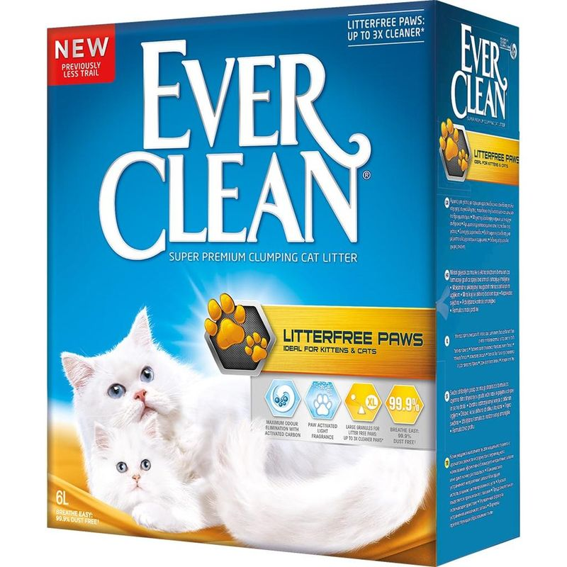 EverClean Litter free Paws 6 л