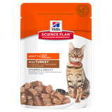 Science Plan™ Feline Adult with Turkey 85 гр