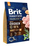 Brit Premium by Nature Dog Adult M 1 кг