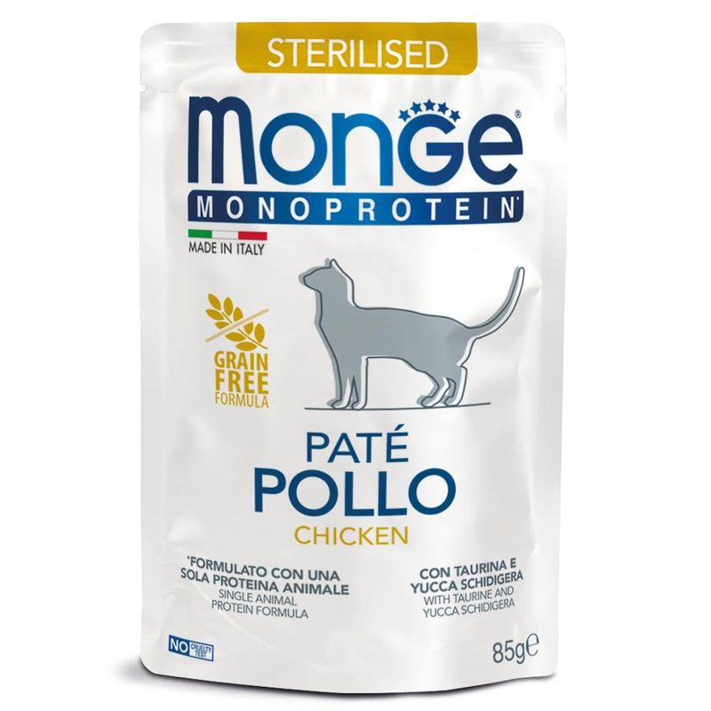 Monge Cat Monoprotein Pouch Chicken 85 гр