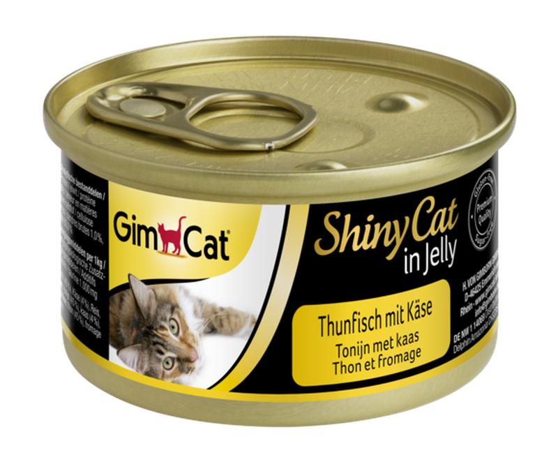 Gimcat ShinyCat Tuna with Cheese 70 гр