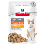 Science Plan™ Feline Sterilised Cat Young Adult with Chicken 85 гр