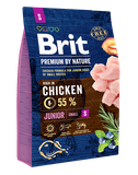 Brit Premium by Nature Dog Junior S 1 кг