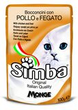Simba Cat Pouch Chicken & Liver 100 гр