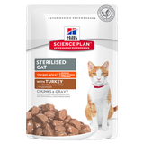 Hill's™ Science Plan™ Sterilised Cat Young Adult Turkey 85 гр