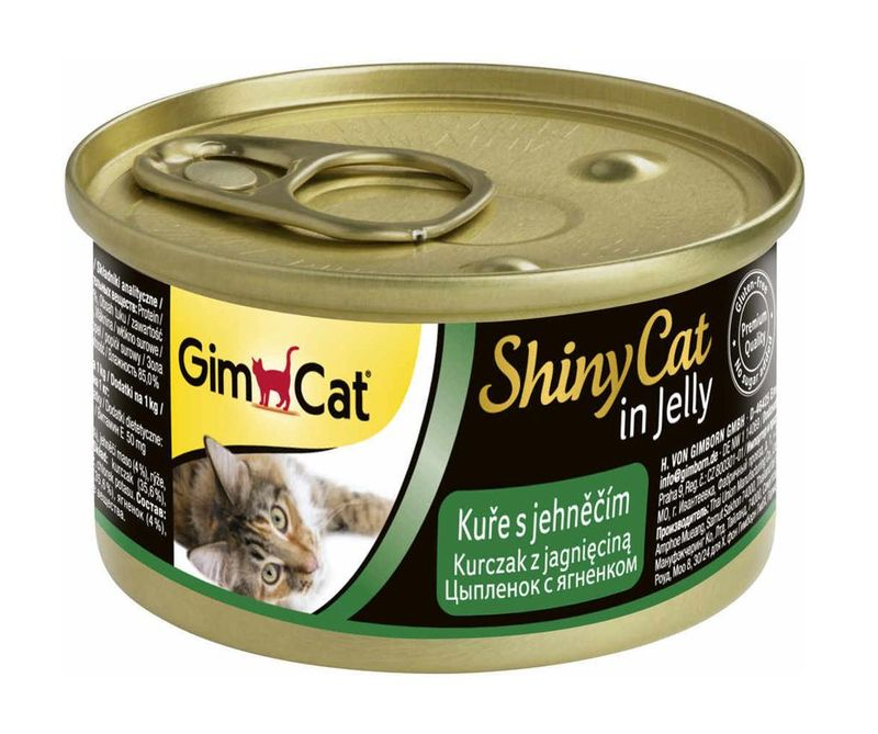 Gimcat ShinyCat Chicken with Lamb 70 гр