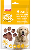 Beaphar Happy Snack Heart Chicken Jerky with Polloc 60 гр