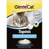 Gimcat «Topinis» Mit Milch, Taurin & Vitaminen 190 шт (220 гр)