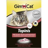 Gimcat «Topinis» Mit Quark, Taurin and Vitaminen 70 шт (85 гр)