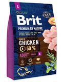Brit Premium by Nature Dog Adult S 1 кг