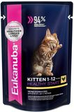 Eukanuba Cat Kitten Pouch Chicken 85 гр