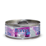 Monge Cat Natural Tuna and Chicken with Beef 80 гр