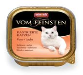 Vom Feinsten for castrated cats Pute + Lachs 100 гр