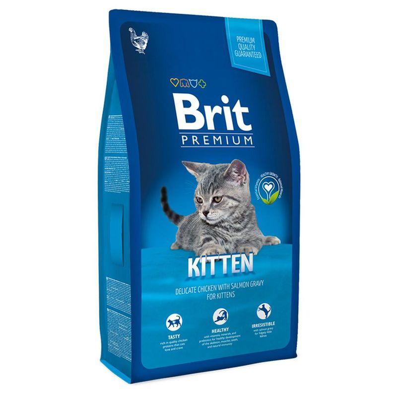 Корм для котят brit premium