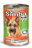 Simba Dog Chunks with Beef and Vegetables 1230 гр