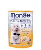 Monge Dog Grill Pouch Chicken & Turkey 100 гр