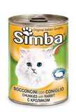 Simba Cat Chunkies with rabbit 400 гр