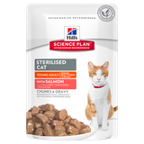 Science Plan™ Feline Sterilised Cat Young Adult with Salmon 85 гр