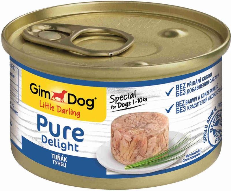 GimDog Little Darling Pure Delight tuna 85 гр