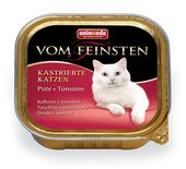 Vom Feinsten for castrated Cats Pute + Tomaten 100 гр