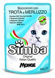 Simba Cat Pouch Trout & Cod-Fish 100 гр