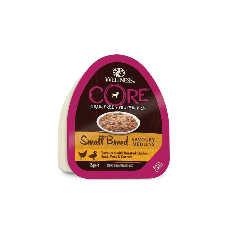 CORE Small Breed SAVOURY MEDLEYS Chicken & Duck 85 гр