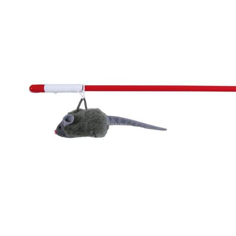 удочка с мышкой с микрочипом на резинке