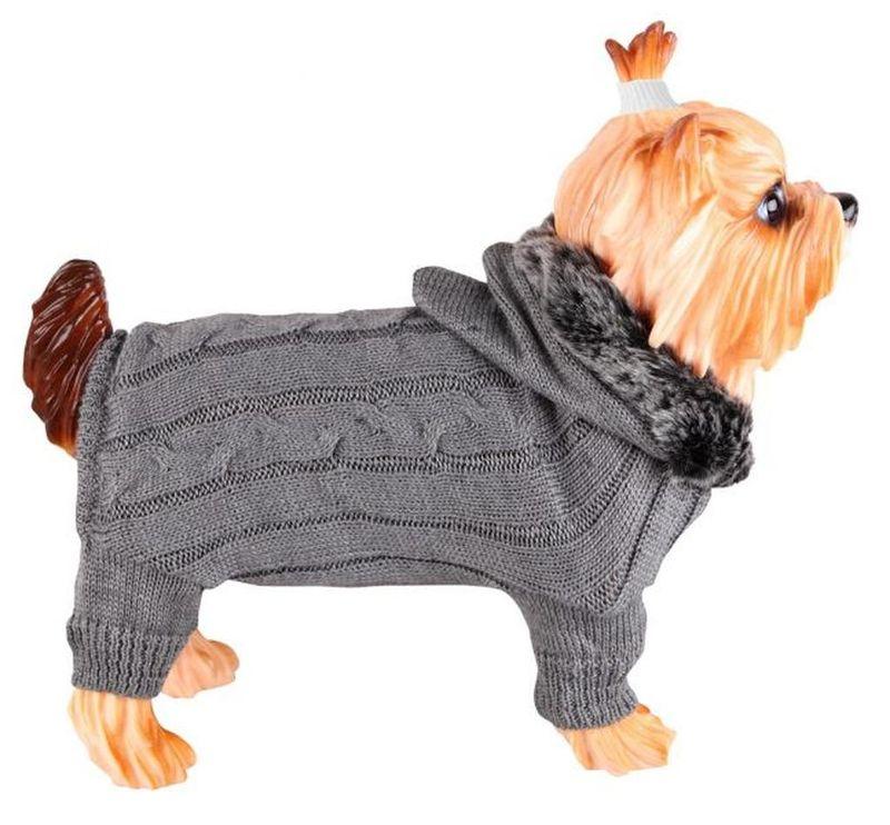 Связанная кофта для собаки