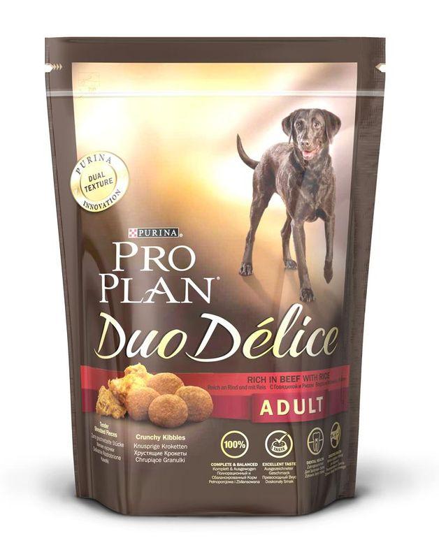 Корм Собачье Счастье Говяжьи потрошки с рисом 750г для собак 41495